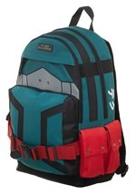 My Hero Academia Deku Suitup Backpack
