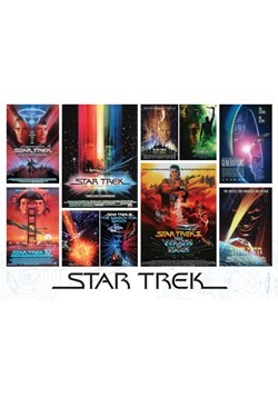 Star Trek: The Motion Pictures 1000 Piece Cobble H Alt 1