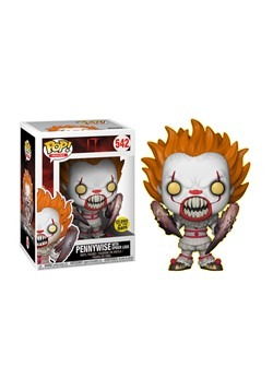 It Pennywise with Spider Legs Glow-in-the-Dark Pop! Vinyl Fi