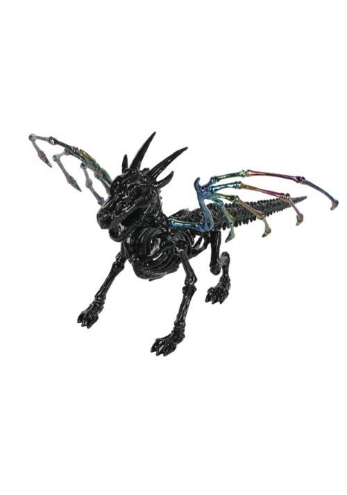"""Oil Slick Skeleton Dragon 7"""""""