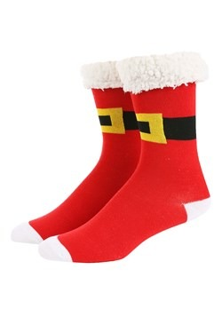 Novelty Santa Crew Socks