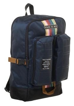 Doctor Who Tardis Double Pocket Backpack Alt 3