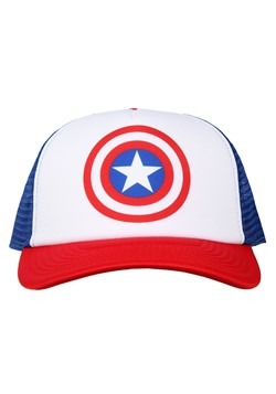 Captain America Trucker Hat Alt 1