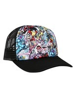 X-Mens 90s Comic Art Trucker Hat Alt 1