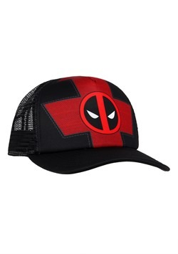 Deadpool Trucker Hat Alt 1