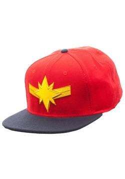 Captain Marvel Snapback Hat Alt 1