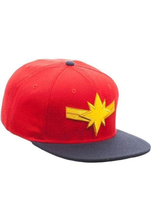 Captain Marvel Snapback Hat Alt 2