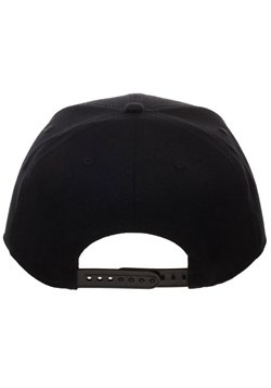 Beetlejuice Black Snapback Hat