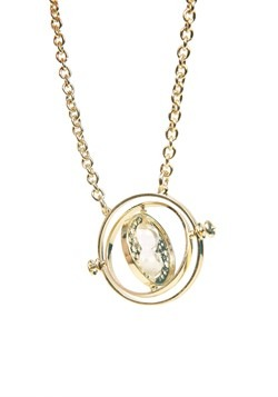 Harry Potter Time Turner Cosplay Necklace Alt 1