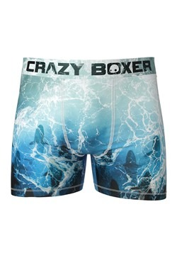 Crazy Boxers Shark Week- Tidal Sharks Mens Boxer Briefs