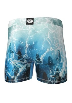 Crazy Boxers Shark Week- Tidal Sharks Mens Boxer Briefs Alt