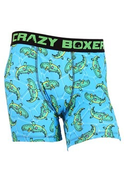 Crazy Boxers Crocodile Pool Party Mens Boxers Brie