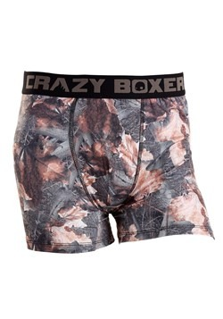 Crazy Boxers Camouflage Mens Boxers Briefs