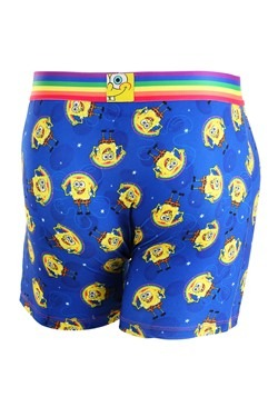 Crazy Boxers Spongebob- Imagination! Mens Boxers B Alt 1