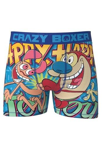Crazy Boxers Ren & Stimpy Happy Happy Joy Joy Mens