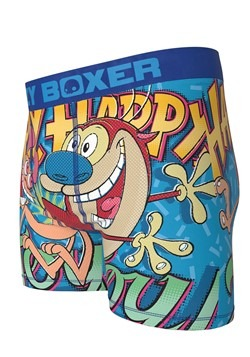 Crazy Boxers Ren & Stimpy Happy Happy Joy Joy Mens Alt 1