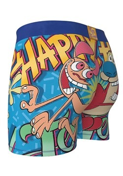 Crazy Boxers Ren & Stimpy Happy Happy Joy Joy Mens Alt 2