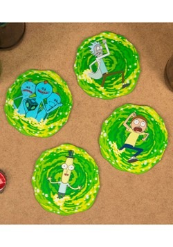 Rick & Morty 3D Coasters Alt 2