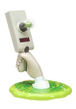Rick and Morty Portal Gun Light Update