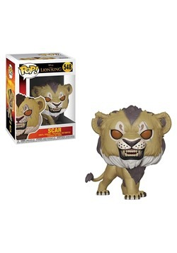 Pop! Disney: The Lion King (Live Action)- Scar