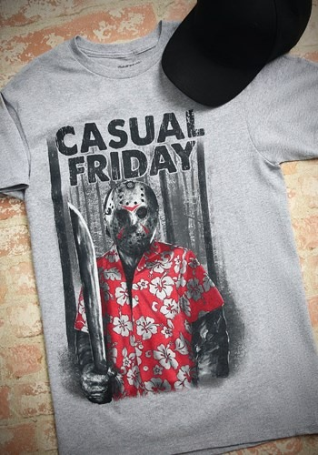 Friday the 13th Jason Casual Friday T-Shirt
