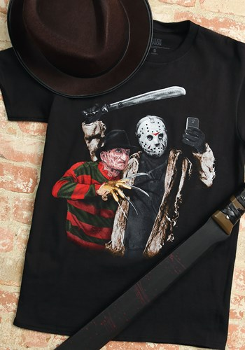 Men's Jason Freddy Selfie Black T-Shirt