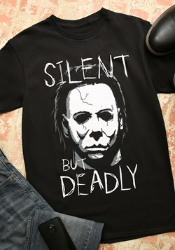 Michael Myers Silent But Deadly Black T-Shirt