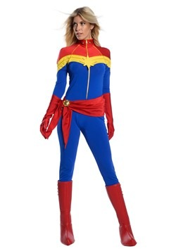 Women's Captain Marvel Premium Costume