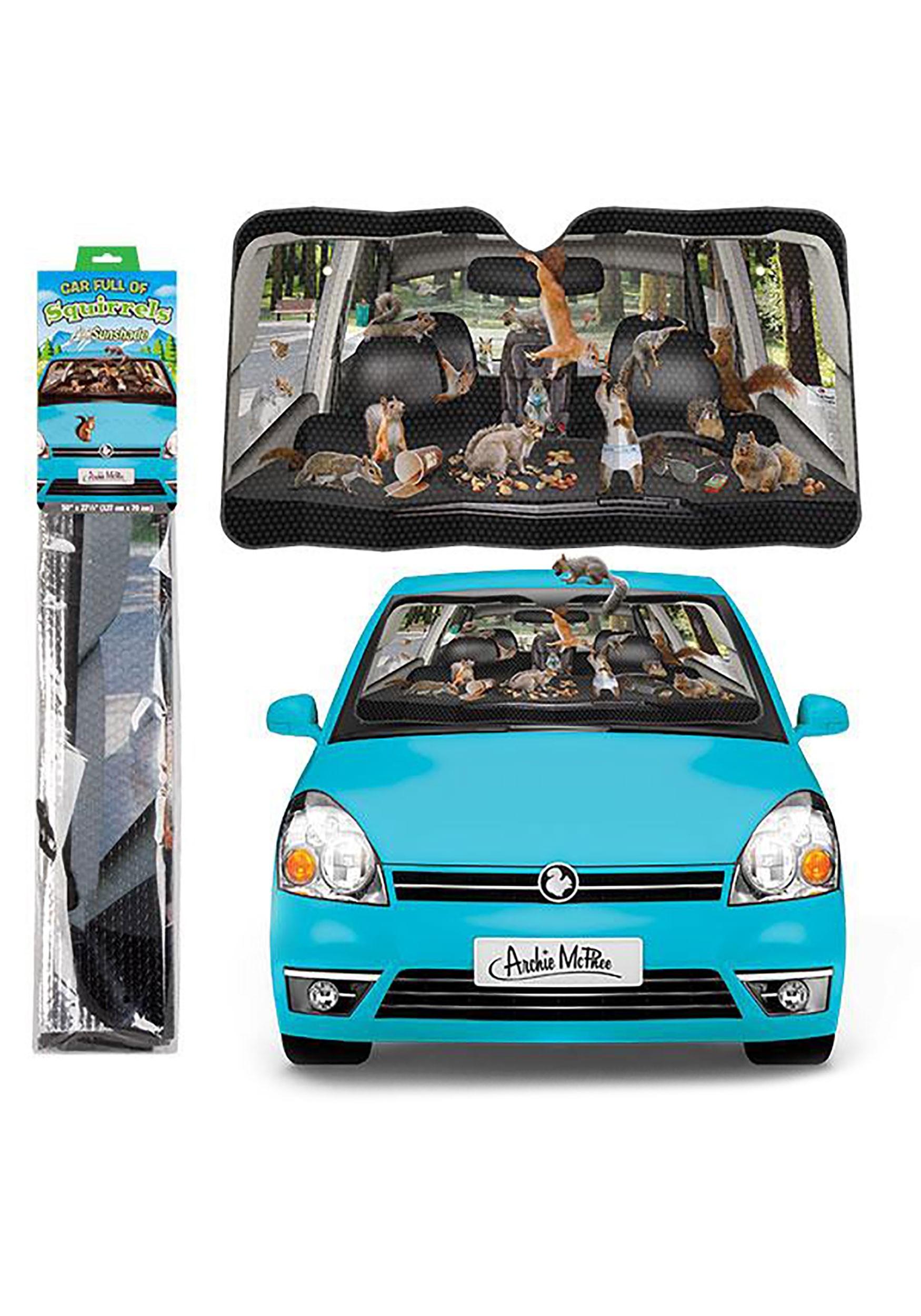 Car_Full_of_Squirrels__Auto_Sunshade