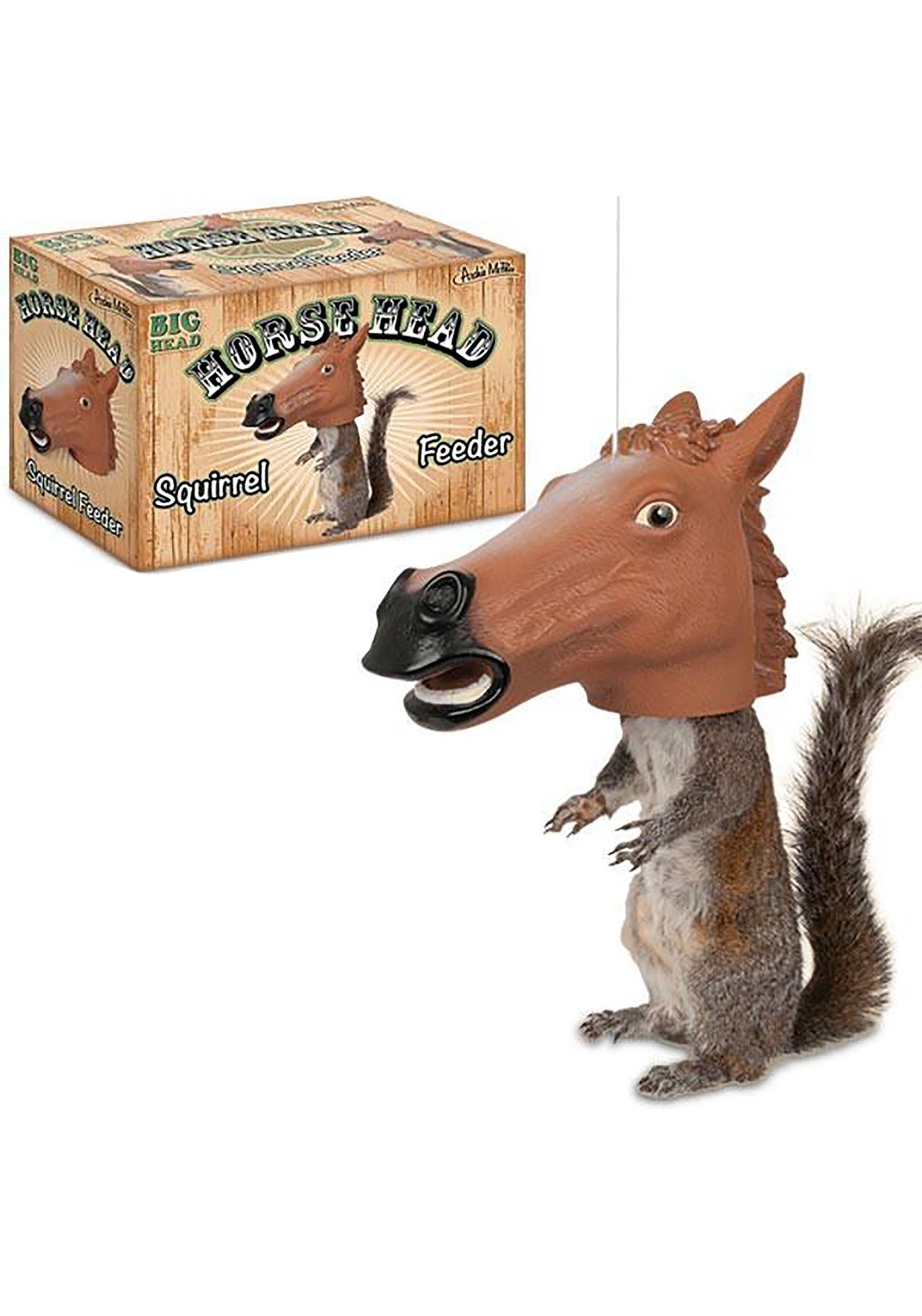 Horse_Head_Vinyl_Squirrel_Feeder