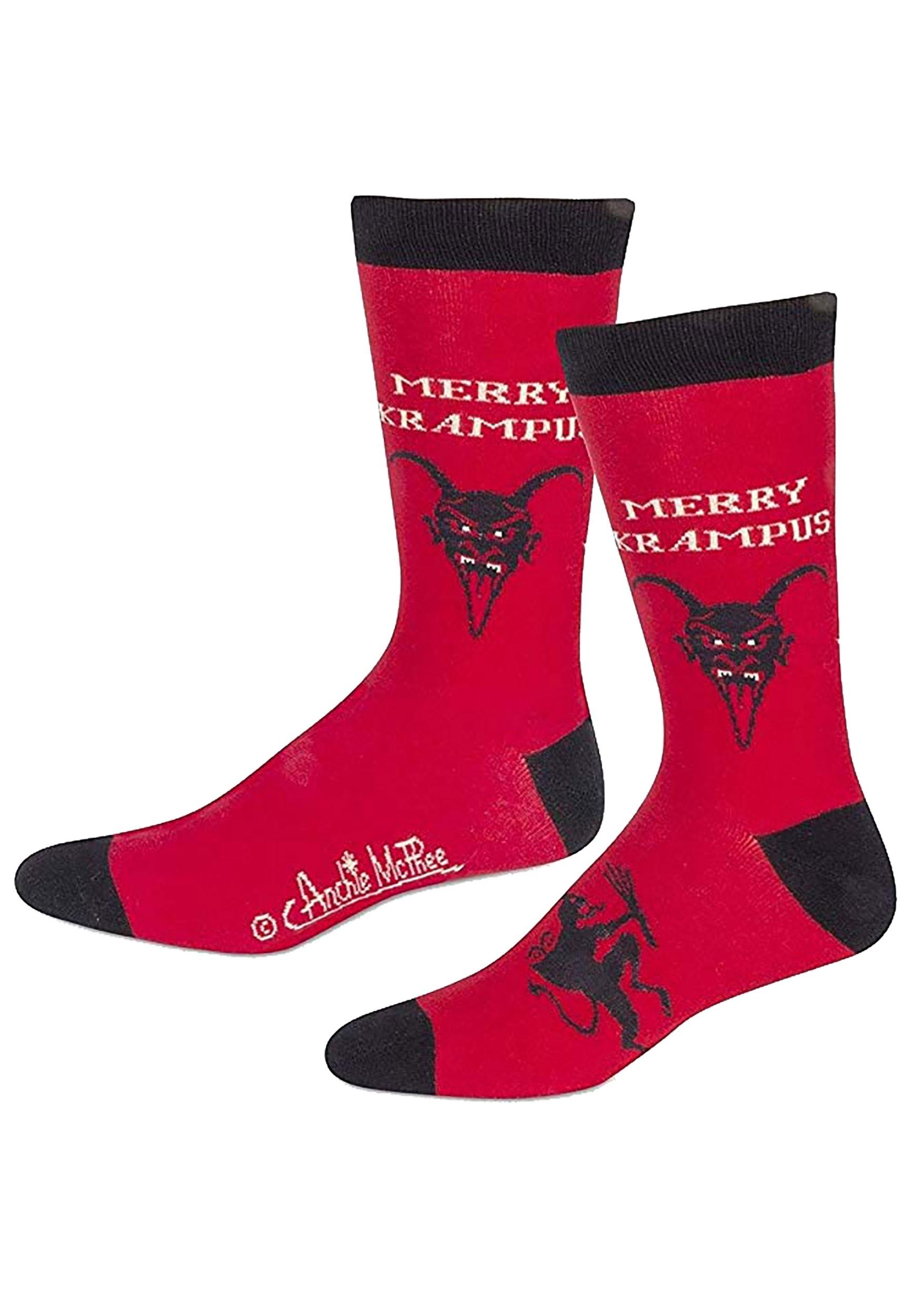 Red_Krampus_Socks