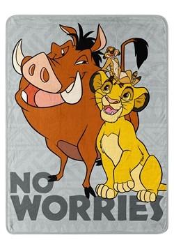 Lion King Timon & Pumba No Worries Super Soft Thro