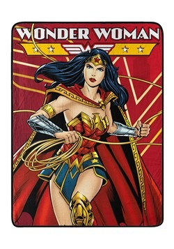 Wonder Woman Justice Defender Super Soft Throw