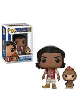Pop! Disney: Aladdin (Live)- Aladdin w/ Abu