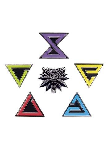 The Witcher Enamel Pin Set