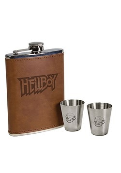 Hellboy Deluxe Flask Set