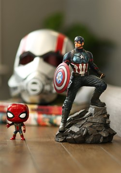 The Marvel Premier Avengers: Endgame Captain America Statue