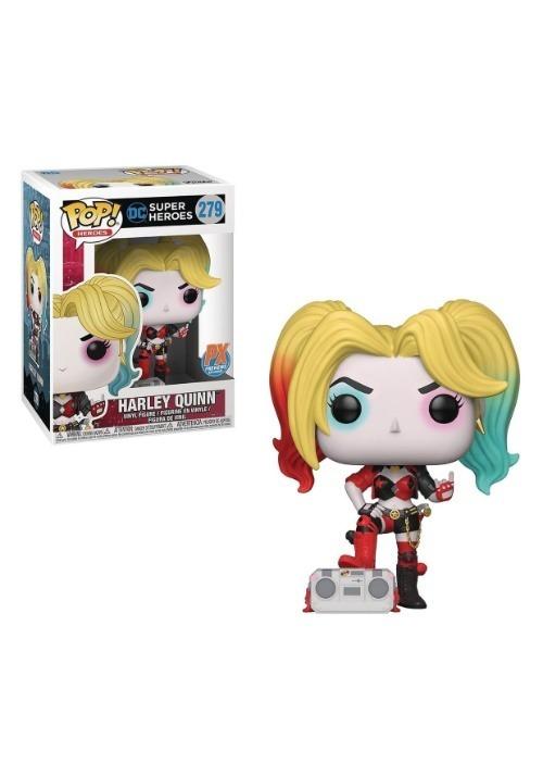 DC Heroes Harley Quinn with Boombox Pop! Vinyl Figure - Prev