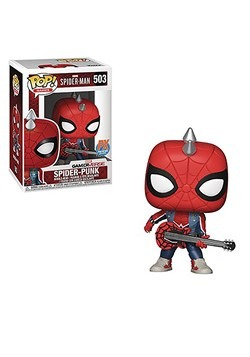 Spider-Man Video Game Spider-Punk Pop! Previews Exclusive