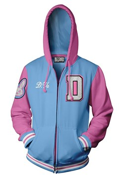 Overwatch: Varsity D.Va Zip-Up Hooded Sweatshirt