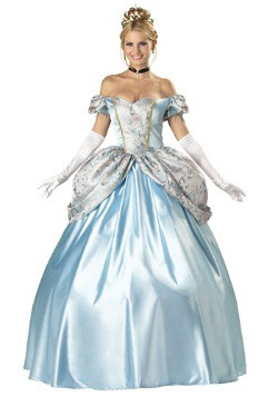 Elite Royal Blue Enchanting Princess Costume