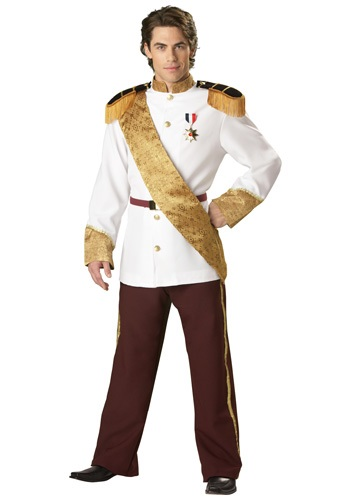 Mens Elite Prince Charming Costume