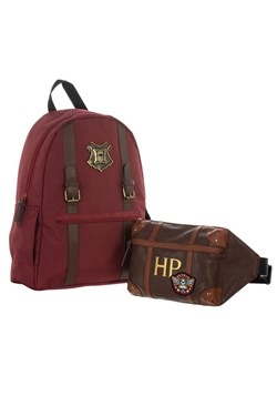Harry Potter Trunk Backpack with Removeable Fanny Pack Alt 4