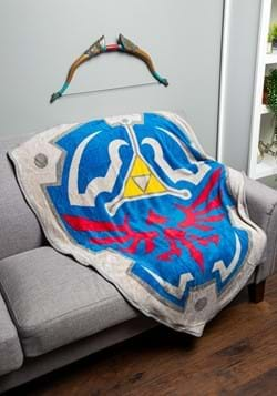 Zelda Fleece Shield Throw