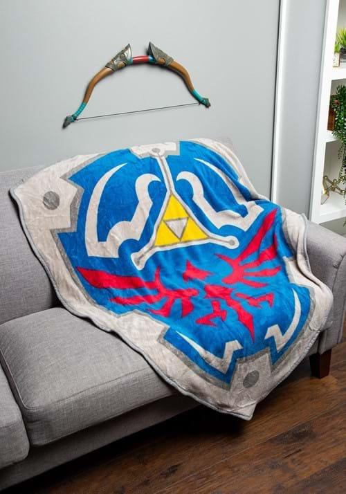 Zelda Fleece Shield Throw