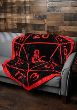 Dungeons & Dragons Shaped D20 Throw