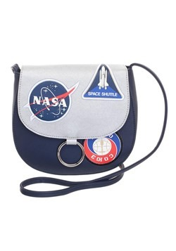 NASA Saddlebag with Patches