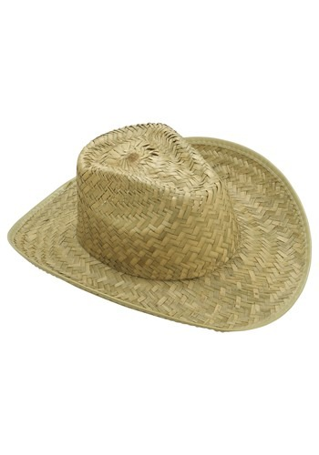 Adult Straw Cowboy Hat