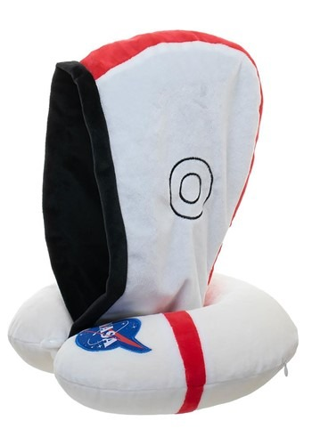 NASA Neck Pillow with Hood