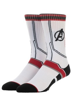 Avengers Endgame Athletic Suit Up Mens Crew Sock